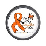 Leukemia Daughter-in-Law Wall Clock