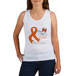 Leukemia Ribbon Dad Women's Tank Top