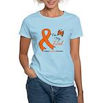 Leukemia Ribbon Dad Women's Light T-Shirt