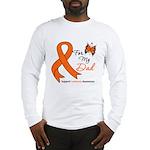 Leukemia Ribbon Dad Long Sleeve T-Shirt