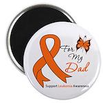 Leukemia Ribbon Dad Magnet