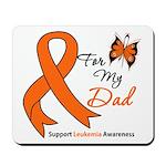 Leukemia Ribbon Dad Mousepad