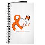 Leukemia Ribbon Dad Journal