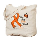 Leukemia Ribbon Best Friend Tote Bag