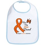 Leukemia Ribbon Best Friend Bib