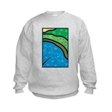 Cast A Line Kids Sweatshirt