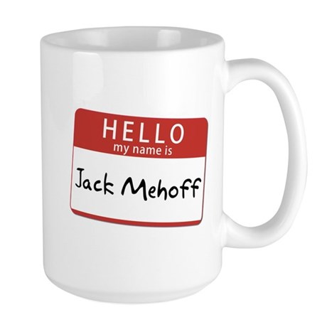 Jack Mehoff Large Mug