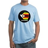 Flag Map of Zimbabwe Shirt