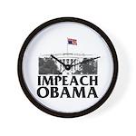 Impeach Obama Wall Clock