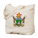Zimbabwe Coat of Arms Tote Bag