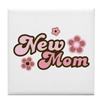 New Mom Tile Coaster