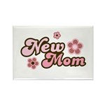 New Mom Rectangle Magnet (100 pack)