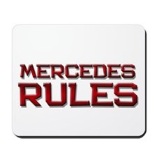 mercedes rules Mousepad