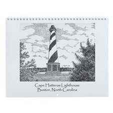 Cape Hatteras Lighthouse Wall Calendar