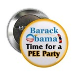 """Pee Party 2.25"""" Button (100 pack)"""