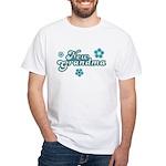 New Grandma White T-Shirt