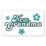 New Grandma Rectangle Sticker 10 pk)