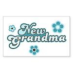New Grandma Rectangle Sticker 50 pk)
