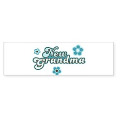 New Grandma Bumper Sticker (10 pk)