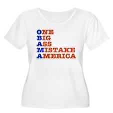 Obama: One Big Ass Mistake America T-Shirt