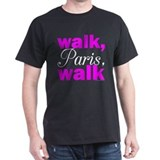Walk Paris Walk Black T-Shirt