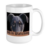 doG is watching Mug