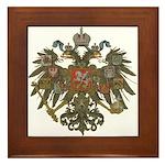 Romanov Dynasty Framed Tile