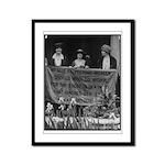No Self-Respecting Woman . . .Framed Panel Print