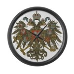 Romanov Dynasty Large Wall Clock