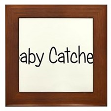 Baby Catcher Framed Tile