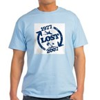 Lost with Sawyer since 1977 Light T-Shirt