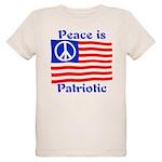 Peace is Patriotic Organic Kids T-Shirt