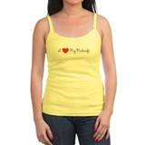 I heart my midwife-long ways Tank Top