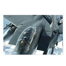 F-15 Refueling Postcards (Package of 8)