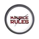 maurice rules Wall Clock