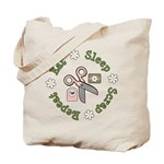 Eat Sleep Scrap Repeat Tote Bag