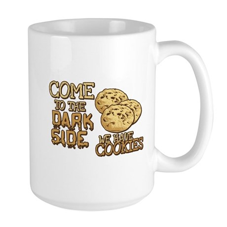 Come To The Dark Side Large Mug