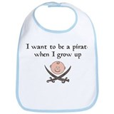When I Grow Up Bib
