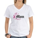 Mom Vintage Women's V-Neck T-Shirt