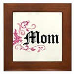 Mom Vintage Framed Tile