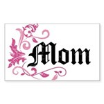 Mom Vintage Rectangle Sticker 10 pk)