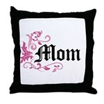 Mom Vintage Throw Pillow