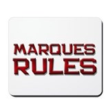 marques rules Mousepad