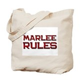 marlee rules Tote Bag