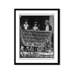 No Self-Respecting Woman . . .Framed Panel Print