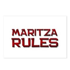 maritza rules Postcards (Package of 8)