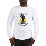 Long Sleeve Migrant Filmmaker v.5 T-Shirt