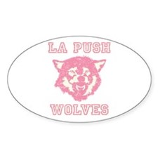 La Push Wolves Oval Decal