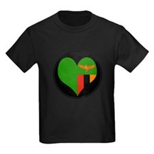I love Zambia Flag T