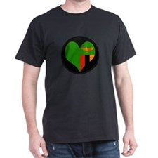 I love Zambia Flag T-Shirt